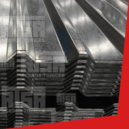 R101 galvanizada de acero