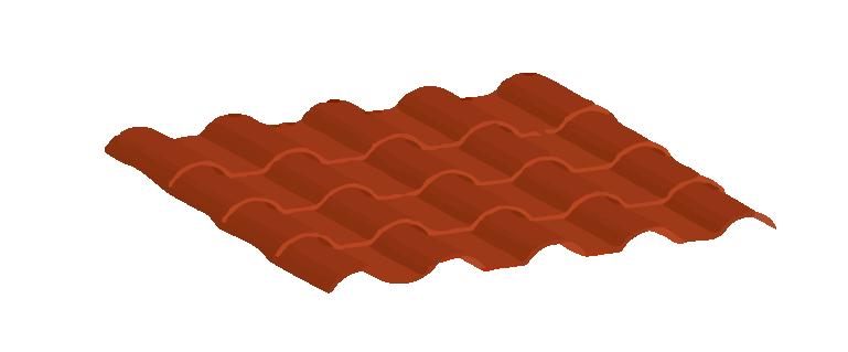Lámina ultrateja de PVC