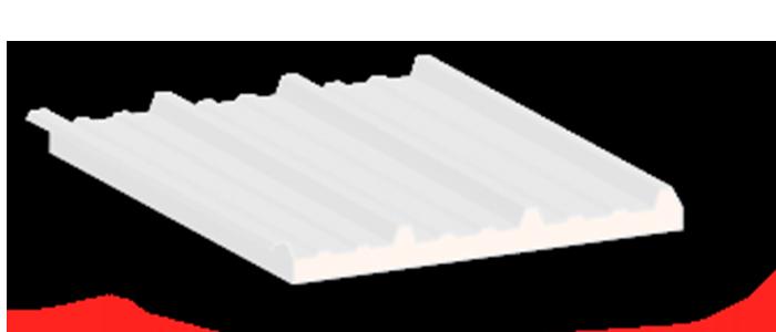 Econotecho panel aislante