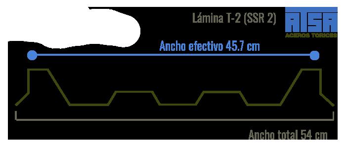 Lámina traslúcida T2