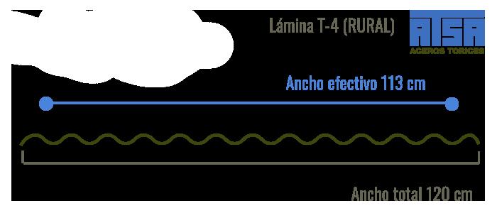 Lámina traslúcida T4
