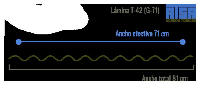 Lámina traslúcida T42