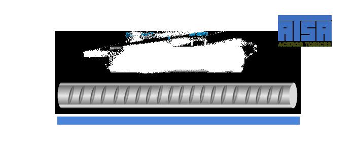 Medidas de la varilla corrugada