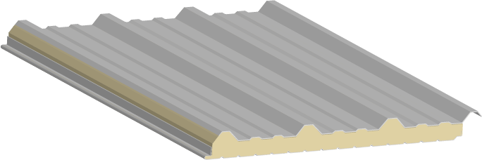 Panel glamet